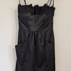 *NEW* Max & Cleo strapless black dress with pocket